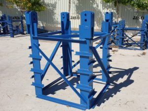 Base anchor for Pingon Tower Crane